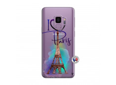 Coque Samsung Galaxy S9 Plus I Love Paris