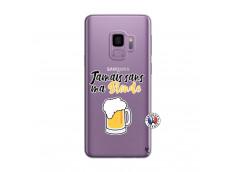 Coque Samsung Galaxy S9 Plus Jamais Sans Ma Blonde