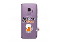 Coque Samsung Galaxy S9 Plus Jamais Sans Ma Rousse