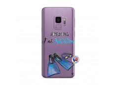 Coque Samsung Galaxy S9 Plus Je Peux Pas J Ai Natation