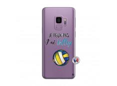 Coque Samsung Galaxy S9 Plus Je Peux Pas J Ai Volley