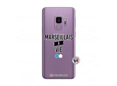 Coque Samsung Galaxy S9 Plus Marseillais à Vie