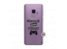 Coque Samsung Galaxy S9 Plus Monsieur Mauvais Perdant