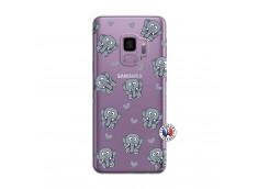 Coque Samsung Galaxy S9 Plus Petits Elephants