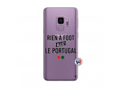 Coque Samsung Galaxy S9 Plus Rien A Foot Allez Le Portugal