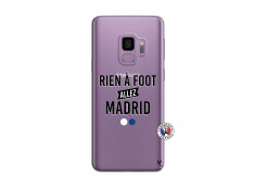 Coque Samsung Galaxy S9 Plus Rien A Foot Allez Madrid