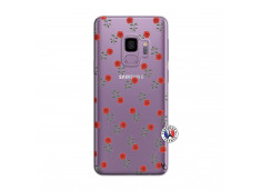 Coque Samsung Galaxy S9 Plus Rose Pattern