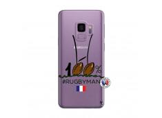 Coque Samsung Galaxy S9 Plus 100 % Rugbyman Entre les Poteaux