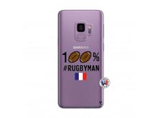 Coque Samsung Galaxy S9 Plus 100% Rugbyman
