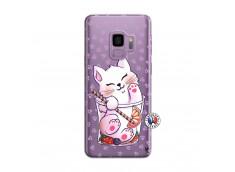 Coque Samsung Galaxy S9 Plus Smoothie Cat
