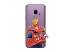 Coque Samsung Galaxy S9 Plus Super Papa et Super Bébé