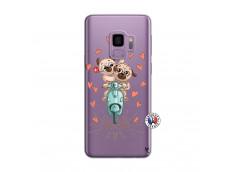Coque Samsung Galaxy S9 Plus Puppies Love