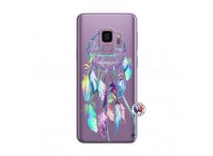 Coque Samsung Galaxy S9 Blue Painted Dreamcatcher