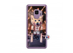 Coque Samsung Galaxy S9 Cat Nasa Translu