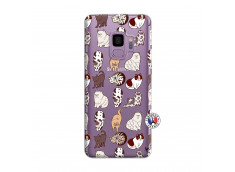 Coque Samsung Galaxy S9 Cat Pattern