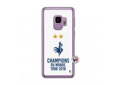 Coque Samsung Galaxy S9 Champion Du Monde Translu