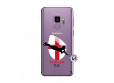 Coque Samsung Galaxy S9 Coupe du Monde Rugby-England