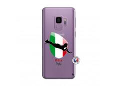 Coque Samsung Galaxy S9 Coupe du Monde Rugby-Italy
