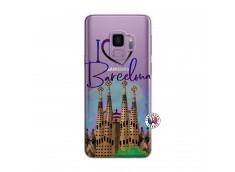 Coque Samsung Galaxy S9 I Love Barcelona