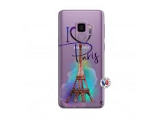 Coque Samsung Galaxy S9 I Love Paris
