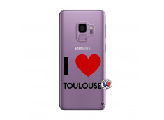 Coque Samsung Galaxy S9 I Love Toulouse