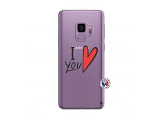 Coque Samsung Galaxy S9 I Love You