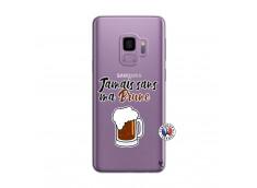 Coque Samsung Galaxy S9 Jamais Sans Ma Brune