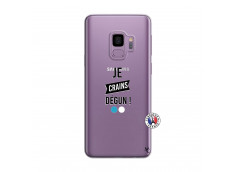 Coque Samsung Galaxy S9 Je Crains Degun