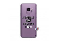 Coque Samsung Galaxy S9 Je Dribble Comme Cristiano