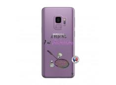 Coque Samsung Galaxy S9 Je Peux Pas J Ai Badminton