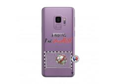 Coque Samsung Galaxy S9 Je peux pas j'ai Handball