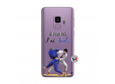 Coque Samsung Galaxy S9 Je peux pas j'ai Judo