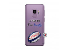 Coque Samsung Galaxy S9 Je Peux Pas J Ai Rugby