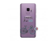 Coque Samsung Galaxy S9 Je Peux Pas J Ai Velo