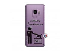 Coque Samsung Galaxy S9 Je Peux Pas Je Suis Veterinaire