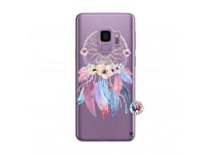 Coque Samsung Galaxy S9 Multicolor Watercolor Floral Dreamcatcher