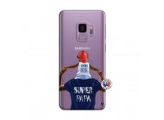 Coque Samsung Galaxy S9 Papa Super Heros