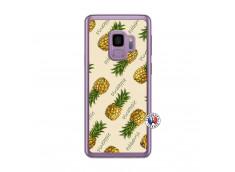 Coque Samsung Galaxy S9 Sorbet Ananas Translu