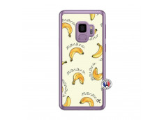 Coque Samsung Galaxy S9 Sorbet Banana Split Translu