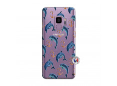 Coque Samsung Galaxy S9 Dauphins