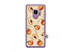 Coque Samsung Galaxy S9 Sorbet Pêche Translu