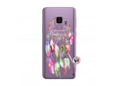 Coque Samsung Galaxy S9 Pink Painted Dreamcatcher