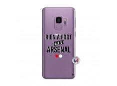 Coque Samsung Galaxy S9 Rien A Foot Allez Arsenal