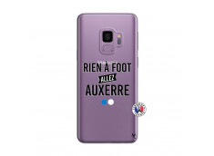 Coque Samsung Galaxy S9 Rien A Foot Allez Auxerre