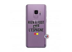 Coque Samsung Galaxy S9 Rien A Foot Allez L'Espagne