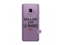 Coque Samsung Galaxy S9 Rien A Foot Allez Le Maroc