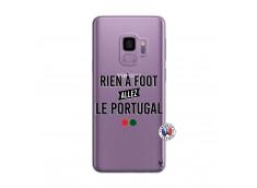 Coque Samsung Galaxy S9 Rien A Foot Allez Le Portugal