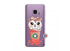 Coque Samsung Galaxy S9 Catpucino Ice Cream