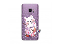 Coque Samsung Galaxy S9 Smoothie Cat