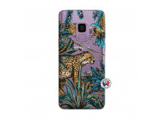 Coque Samsung Galaxy S9 Leopard Jungle